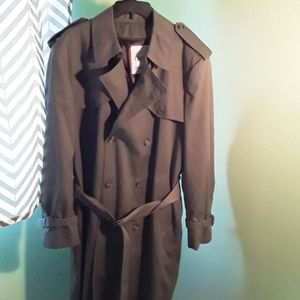 Vintage Clipper Mist Trench Coat